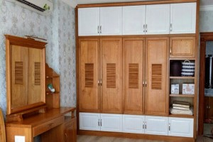 Thiết kế tủ bếp gỗ, tủ quần áo gỗ, giường ngủ gỗ theo phong thủy