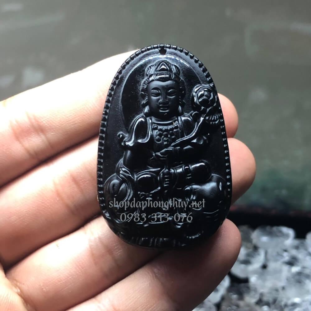 Phật bản mệnh phổ hiền bồ tát obsidian