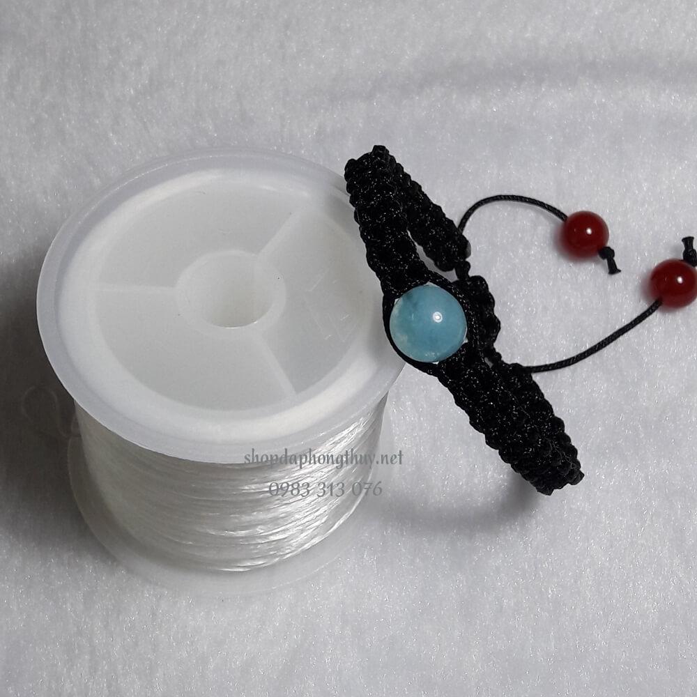Vòng đá aquamarine handmade