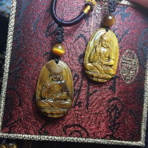 Phật bản mệnh a di đà mắt hổ vàng