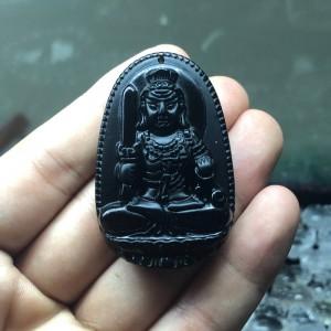 Phật bản mệnh bất động minh vương obsidian