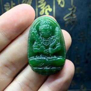 Phật bản mệnh hư không tạng bồ tát ngọc bích