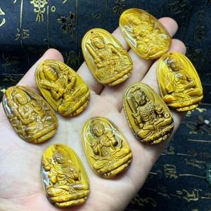 Phật bản mệnh hư không tạng bồ tát mắt hổ vàng