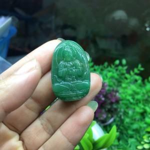 Phật bản mệnh như lai đại nhật thạch anh xanh