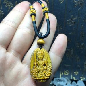 Phật bản mệnh văn thù bồ tát mắt hổ vàng
