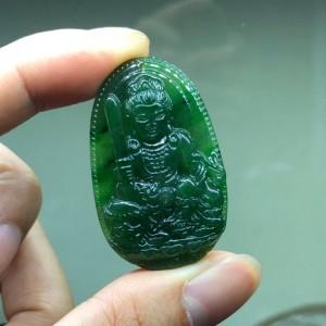 Phật bản mệnh văn thù bồ tát ngọc bích