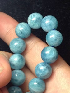 Vòng đá aquamarine